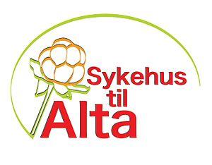 Hospital to Alta - Image: Logo Sykehus til Alta