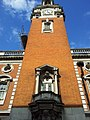 London-Woolwich, Market St, Town hall tower01.jpg