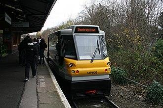 Stourbridge Junction railway station - Image: London Midland 139002, Stourbridge Junction (22993982153)
