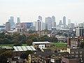 London Skyline From Corbiere House De Beauvoir Estate Hackney - panoramio (2).jpg