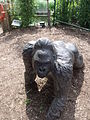 London Zoo - near the Gorilla Kingdom - statues of gorillas (1).jpg
