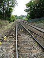 Looking up the line towards Chirk - geograph.org.uk - 1522598.jpg
