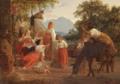Lorenz Frølich - Scene af det italienske folkeliv.png