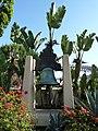 Los Angeles, CA, View N, Mission Bell, El Pueblo de Los Angeles Historical Monument, 2012 - panoramio.jpg