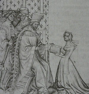 Louis I, Duke of Orléans - Image: Louis Orlean Christina Pisan