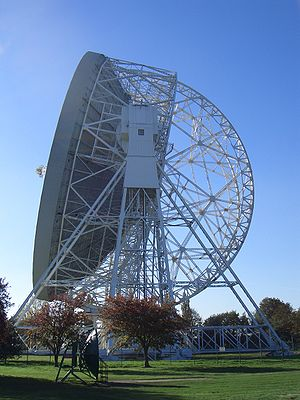 Jodrell Bank Observatory - The Lovell Telescope