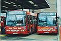 Low floor buses in Hounslow, London, September 1998.jpg