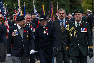 Judith Guichon - Guichon during Remembrance Day celebrations in 2012