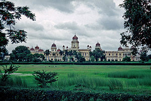 British Raj - University of Lucknow founded by the British in 1867 in India