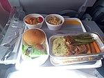 Lufthansa Economy class in-flight meals.jpg