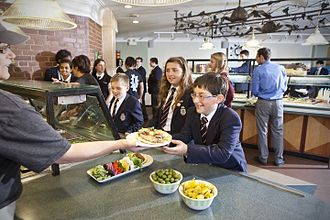 Trinity College School - Image: Lunch in Osler Hall