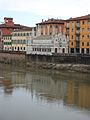 Lungarno Gambacorti i Santa Maria della Spina, Pisa.JPG