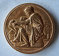 Médaille La maison du papier gommé. Graveur Louis-Félix CHABAUD (1824-1902) Recto.JPG