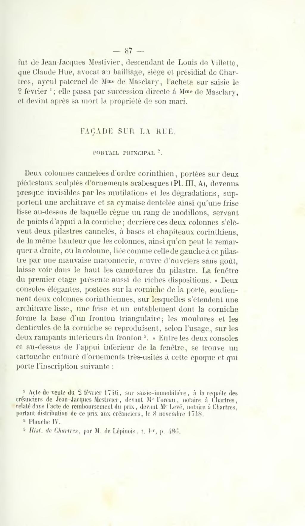 Page Memoires De La Societe Archeologique D Eure Et Loir