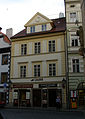 Měšťanský dům (Malá Strana), Praha 1, U lužického semináře 10, Malá Strana.JPG