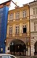 Měšťanský dům U zlaté štiky, U Hubálků (Malá Strana), Praha 1, Malostranské nám. 7, Malá Strana.JPG