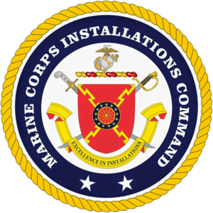 Marine Corps Installations Command - Logo of the Marine Corps Installations Command, part of the U.S. Marine Corps.