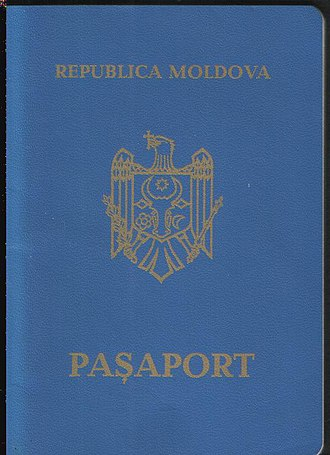 Moldovan passport - Image: MD Pass Kscan 0003