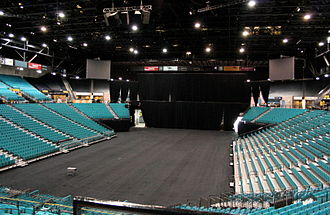 MGM Grand Garden Arena - Concert bowl and seating c.2008