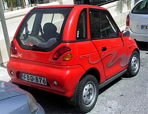 Zero-emissions vehicle - The Indian REVA electric car is a zero emissions vehicle (ZEV) sold in India, several European countries, Japan, Australia, and Costa Rica