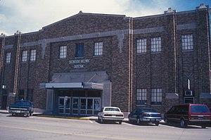 National Register of Historic Places listings in Walworth County, South Dakota - Image: MOBRIDGE AUDITORIUM