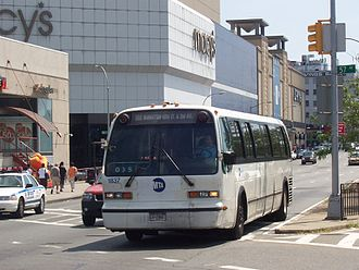 Q60 (New York City bus) - Image: MTA Bus GMC RTS 1837