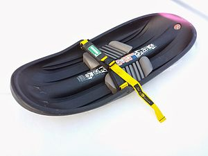 Sledding - A backcountry sled (a kid's size Mad River Rocket - Stinger)