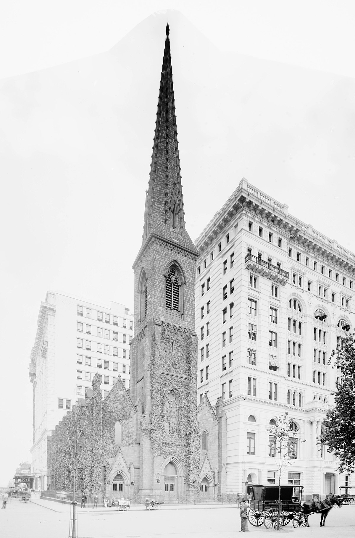 Town And Country Insurance >> Madison Square Presbyterian Church, New York City (1854) - Wikipedia