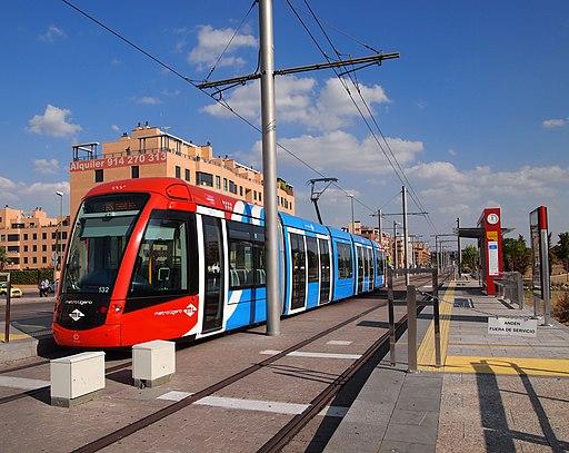 Madrid Metro Ligero - Las Tablas