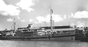Koninklijke Paketvaart-Maatschappij - Dutch hospital ship Maetsuycker served as Southwest Pacific Area interbase hospital ship.