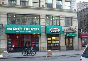 Magnet Theater - Image: Magnet Theater 254 W29 St jeh