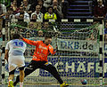 Magnus Dahl Siebenmeter 4-4 DKB Handball Bundesliga HSG Wetzlar vs HSV Hamburg 2014-02 08 026.jpg