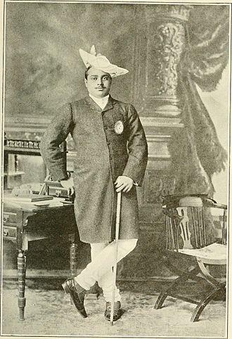 Madho Rao Scindia - Maharaja of Gwalior in 1907