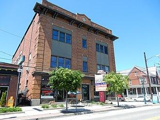 East Greenville, Pennsylvania - Image: Main St 258 East Greenville, PA 01