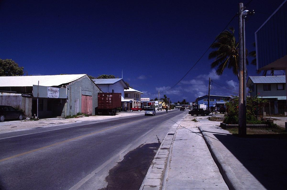 Marshall Islands Capital On The Map