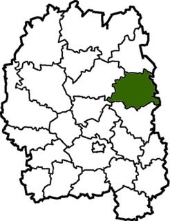 Malyn Raion Former subdivision of Zhytomyr Oblast, Ukraine
