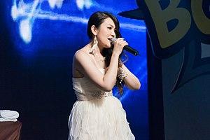 Mami Kawada - Kawada at Bangkok Comic Con in 2014