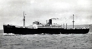 Manchester Liners - Manchester Port, c. 1935, 7,291 gross tons, served ML on their Canadian routes until she was scrapped in 1964.