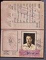 Mandate passport used by Israeli pilot Ephraim Henenson to bring the Avia S-199 to Israel in 1948.jpg