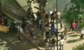 Manifestantes en la Embajada de Guinea Ecuatorial en Venezuela 1.png