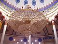 Mannheim Yavuz-Sultan-Selim-Moschee Innen Leuchter 2.jpg