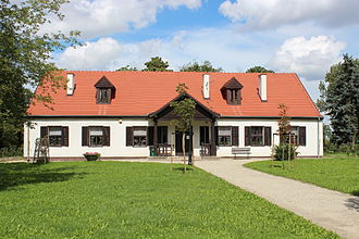 Maria Dąbrowska - Family manor in Russów, where Maria Dąbrowska was raised