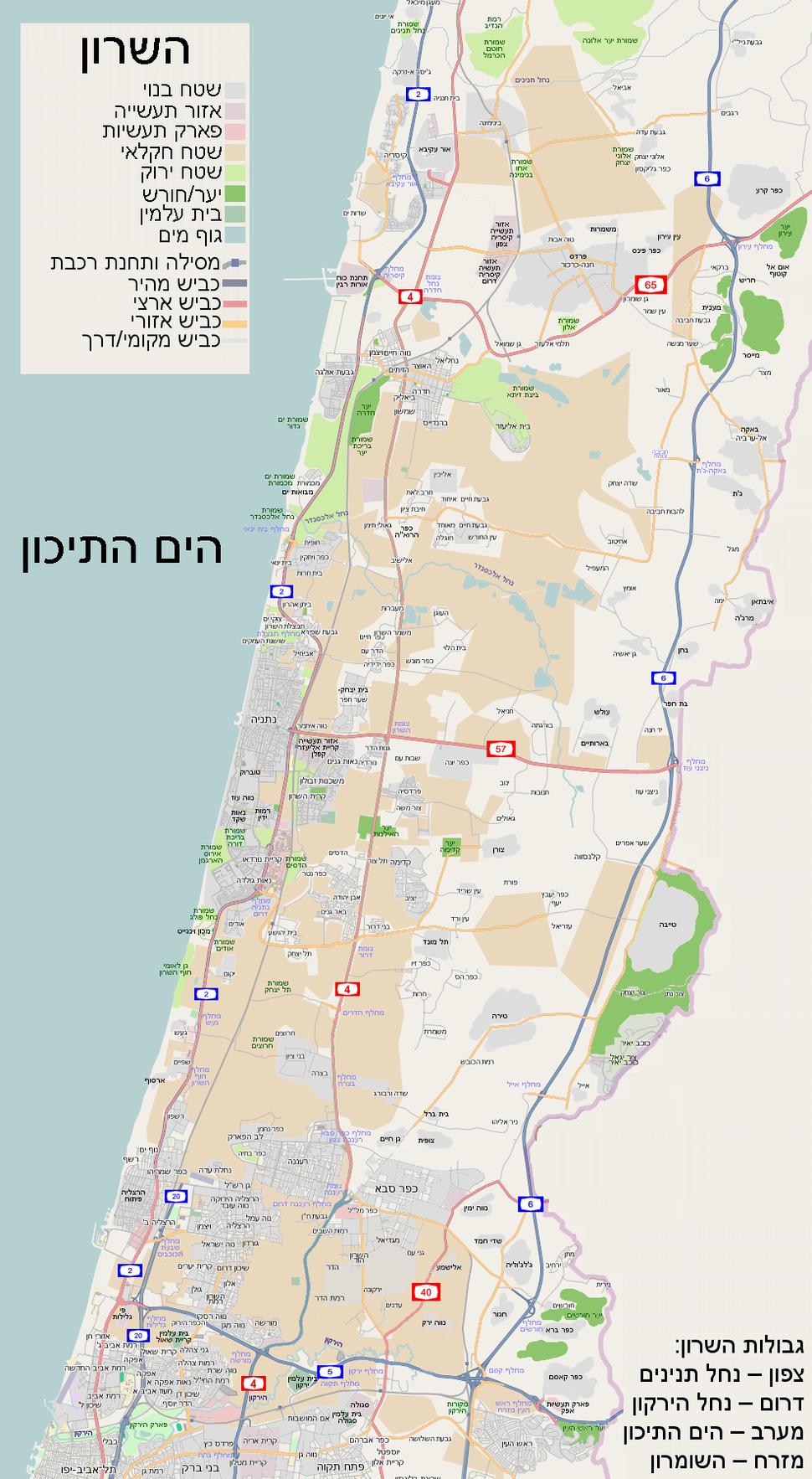Map-sharonn
