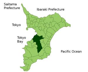 Ichihara in Chiba Japan