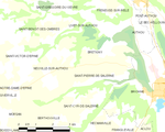 Map commune FR insee code 27592.png