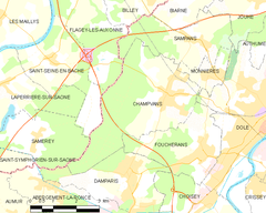 Map commune FR insee code 39101.png