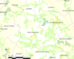 Map commune FR insee code 40270.png