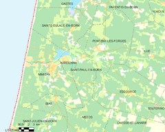 Map commune FR insee code 40278.png