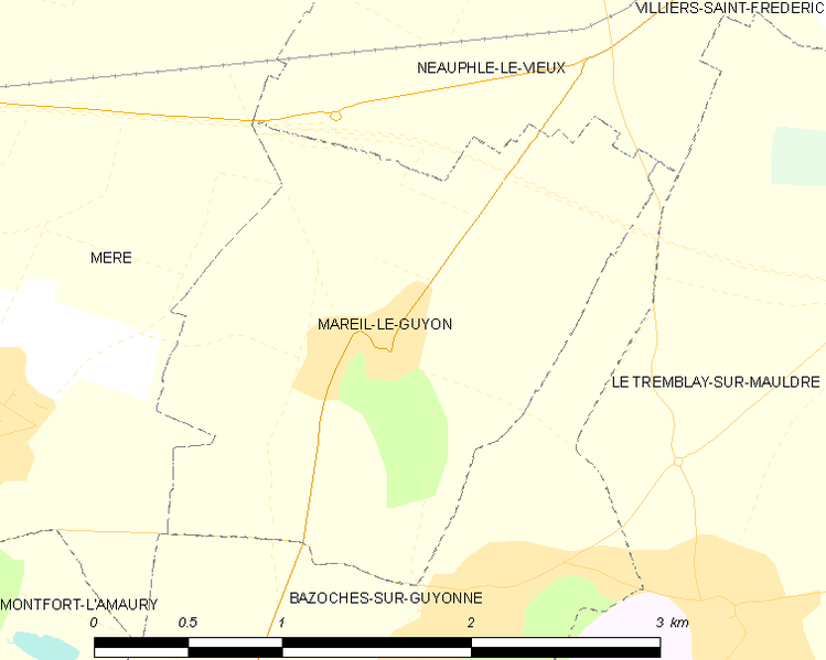 Fitxer:Map commune FR insee code 78366.png