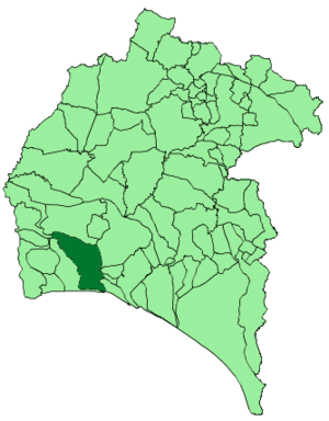 Map of Cartaya (Huelva).png